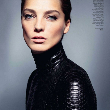 Daria Werbowy By Cass Bird For L'Express Styles 27th November 2013