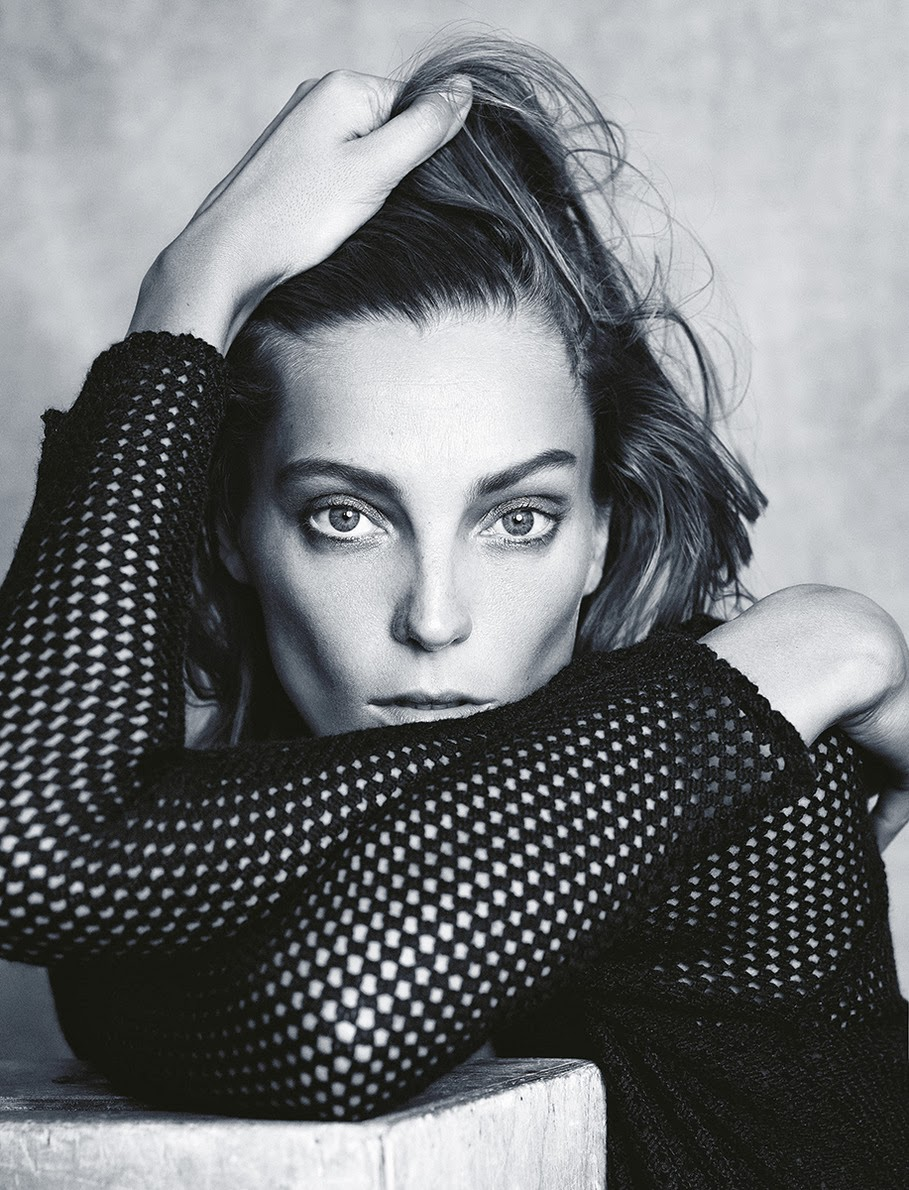 Daria Werbowy by Nico for Madame Figaro France November 1, 2013