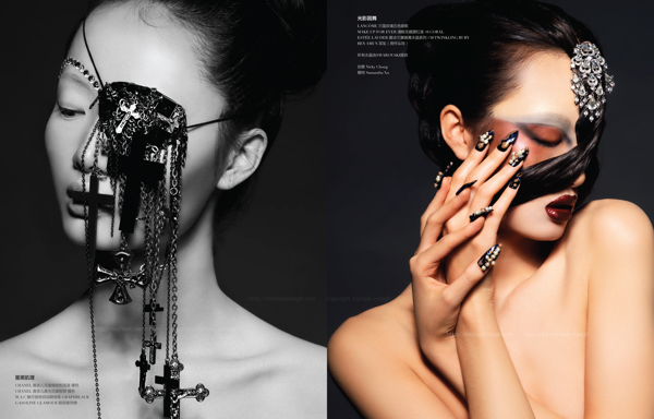 """""""Dark Fantasy"""" by Michael Creagh for Rouge Magazine China"""
