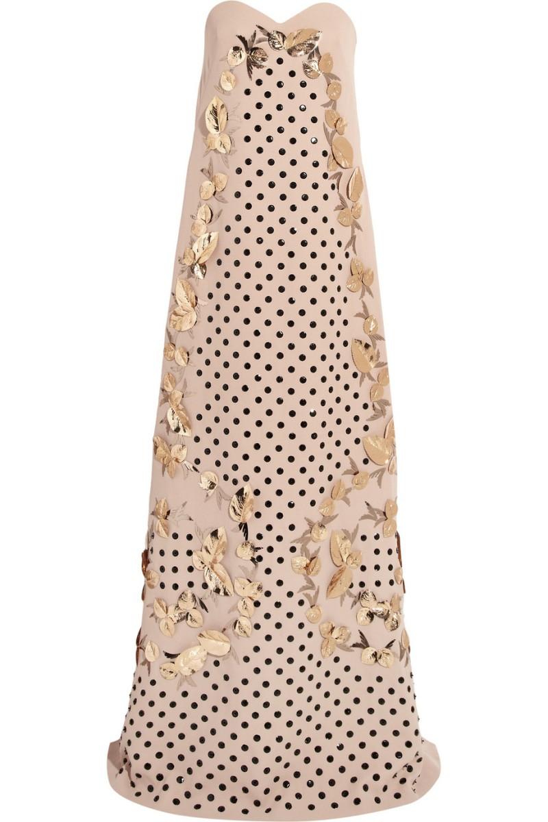 DELPOZO Embellished silk-blend gown €7,500