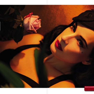 Dita von Teese by Greg Lotus for Vogue Italia November 2013