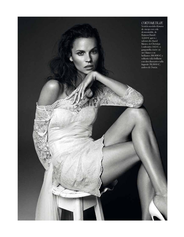 Egle Tvirbutaite by Alvaro Beamud Cortes for Vogue Spain Brides