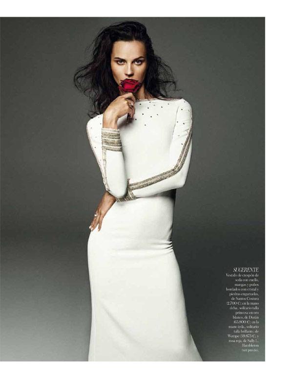 Egle Tvirbutaite by Alvaro Beamud Cortes for Vogue Spain Brides