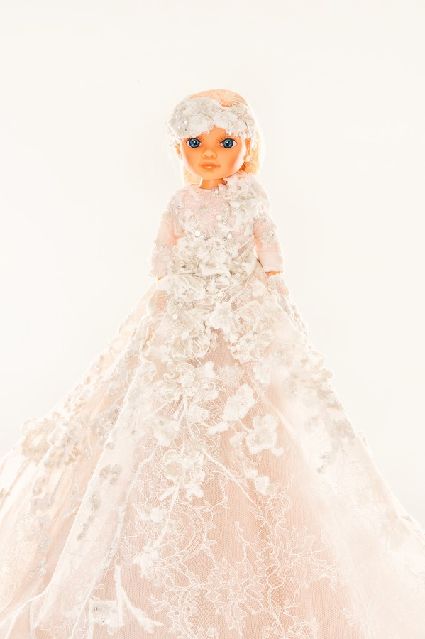 Elie Saab doll for UNICEF