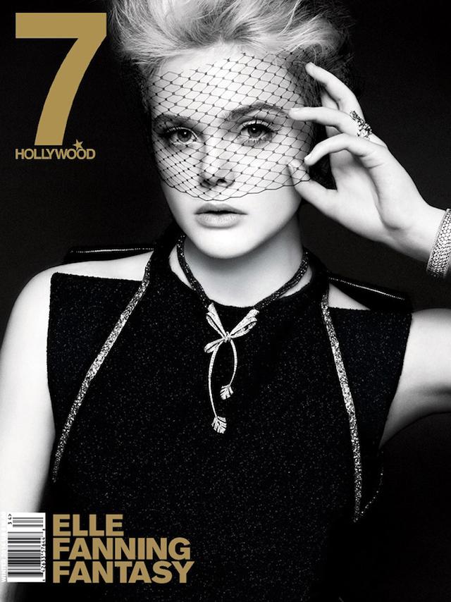 Elle Fanning for 7Hollywood Magazine Winter 2014
