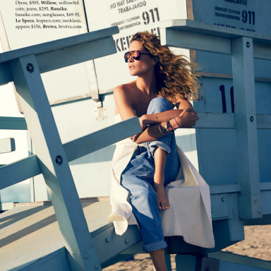 Erin Wasson By David Mandelberg For ELLE Australia December 2013