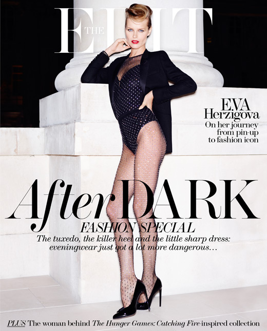 Eva Herzigova by Horst Diekgerdes for The Edit November 21, 2013