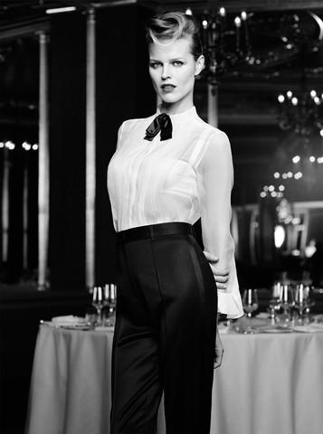 Eva Herzigova by Horst Diekgerdes for The Edit November 21, 2013