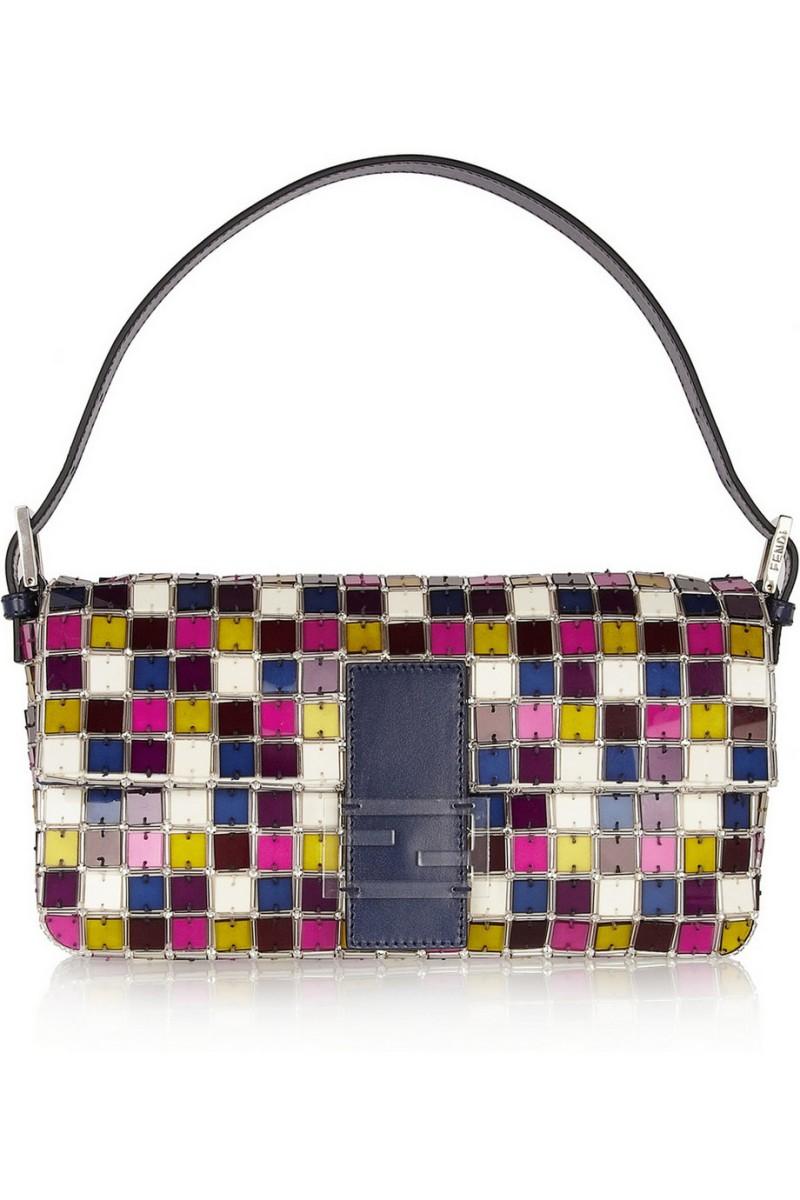 FENDI Baguette crystal and perspex shoulder bag €3,150