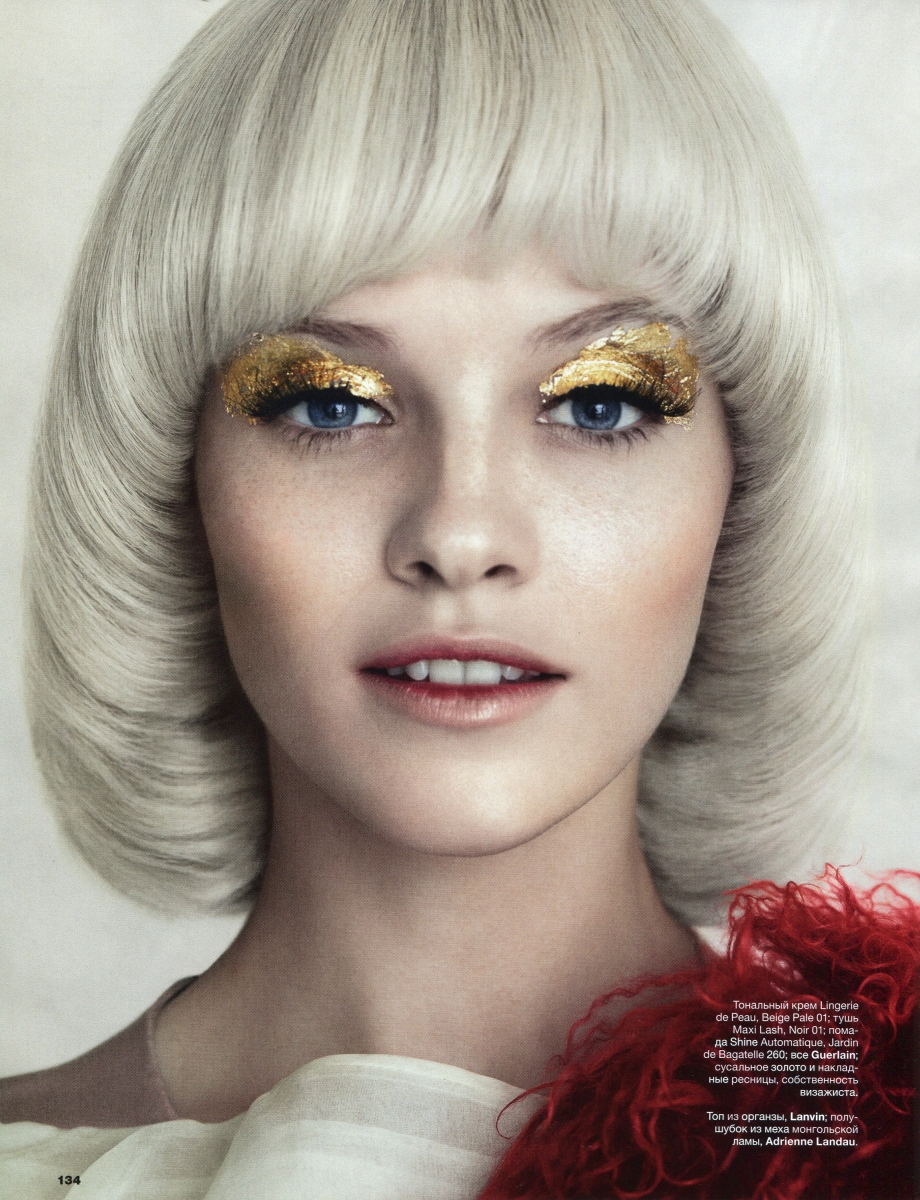 Ginta Lapina by Norman Jean Roy for Allure Russia December 2013