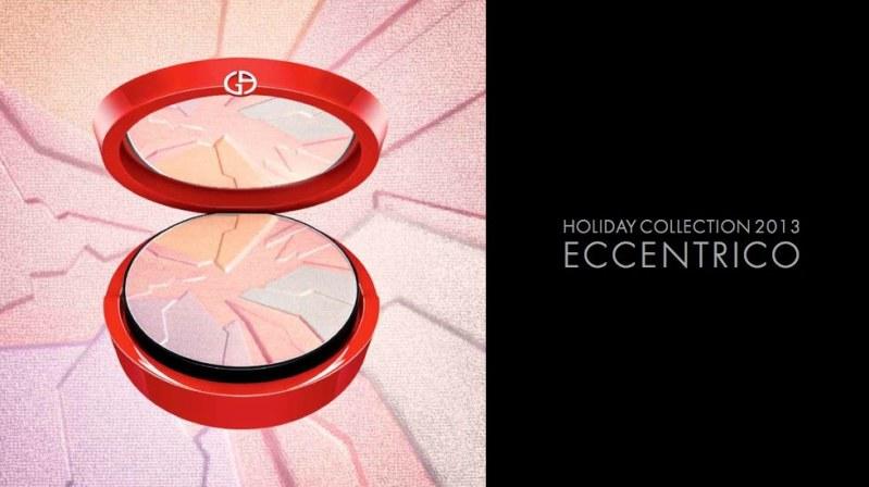 Giorgio Armani Eccentrico Makeup Collection Holiday 2013