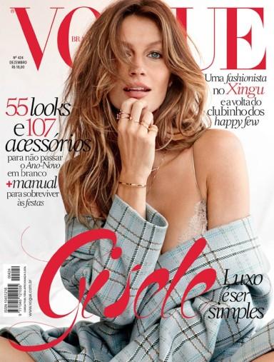 Gisele Bündchen by Giampaolo Sgura for Vogue Brazil December 2013