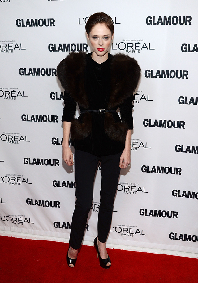Coco Rocha attends Glamour's 23rd annual Women of the Year awards on November 11, 2013 in New York City