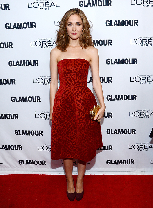 Actress Rose Byrne attends Glamour's 23rd annual Women of the Year awards on November 11, 2013 in New York CityActress Rose Byrne attends Glamour's 23rd annual Women of the Year awards on November 11, 2013 in New York City