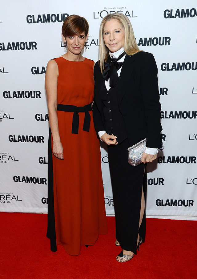 Glamour Editor-in-Chief Cindi Leive (L) and Barbra Streisand attend Glamour's 23rd annual Women of the Year awards on November 11, 2013 in New York City