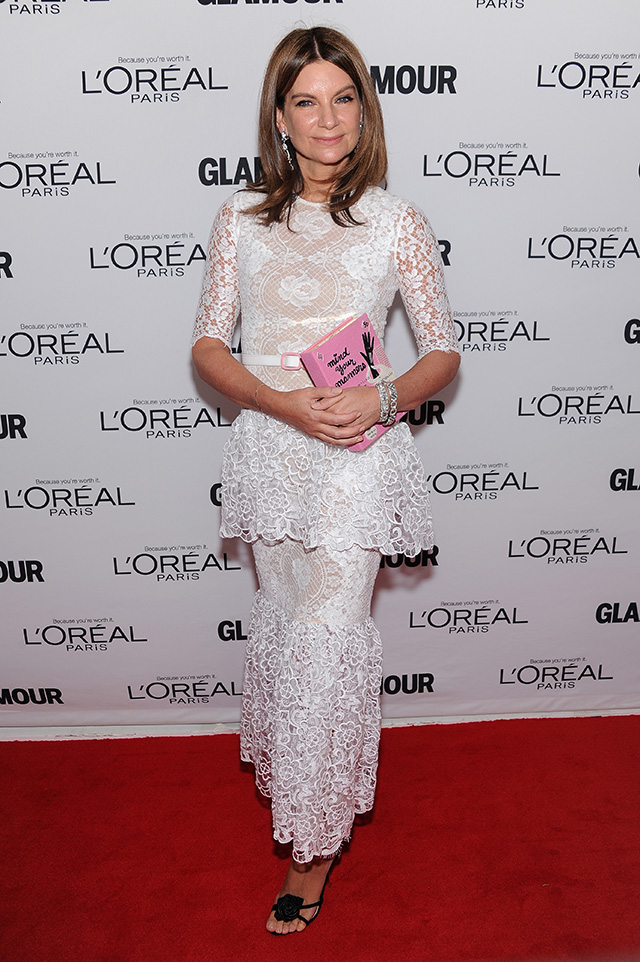 Natalie Massenet speaks onstage at attends Glamour's 23rd annual Women of the Year awards on November 11, 2013 in New York City.