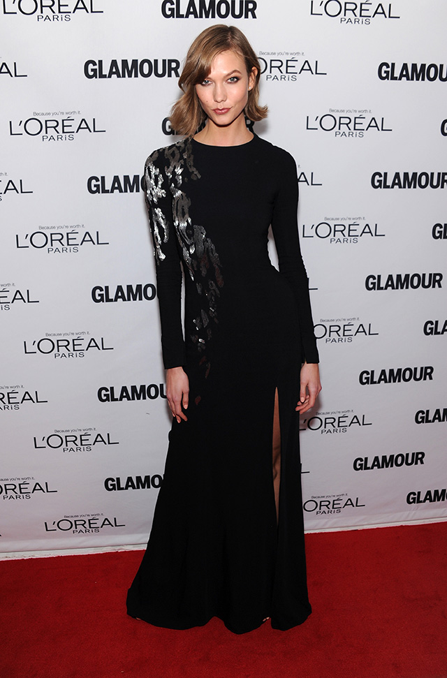 Karlie Kloss attends Glamour's 23rd annual Women of the Year awards on November 11, 2013 in New York City.