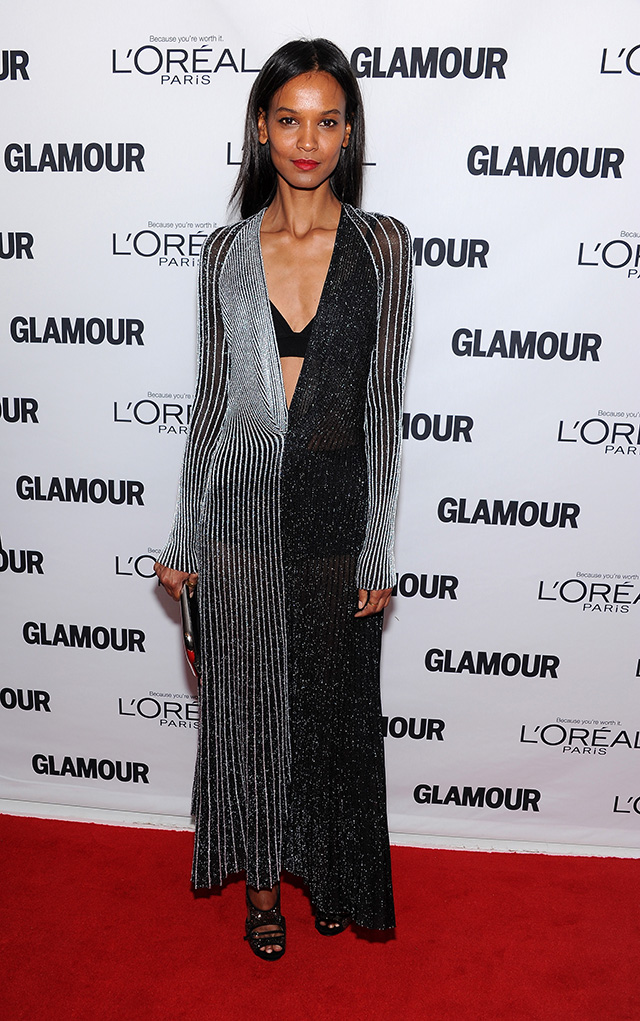 Liya Kebede attends Glamour's 23rd annual Women of the Year awards on November 11, 2013 in New York City.