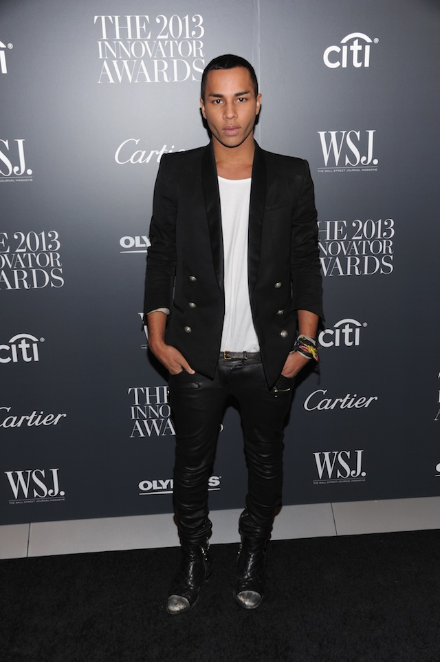 Olivier Rousteing, Balmain's 27-year-old creative director