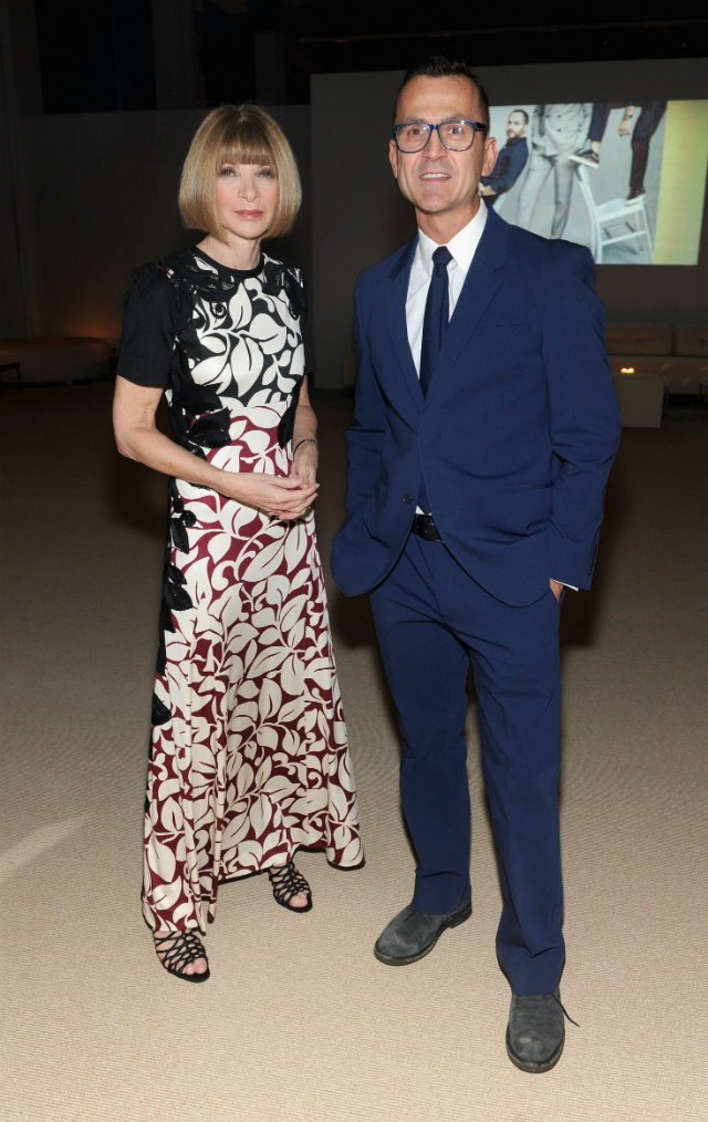 Anna Wintour and Steven Kolb attend CFDA and Vogue 2013 Fashion Fund Finalists Celebration