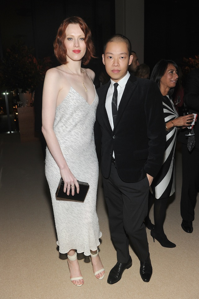 Karen Elson and Jason Wu