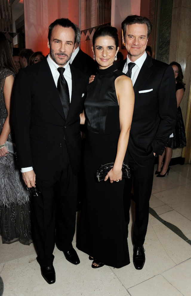 TOM RORD,COLIN AND LIVIA FIRTH