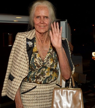 Heidi Klum prematurely aged 50 years for her Halloween costume