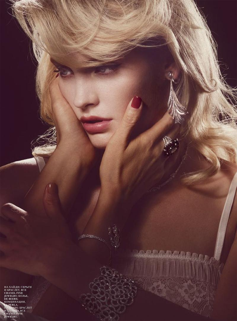 Heidi Mount by Guy Aroch for Interview Russia November 2013