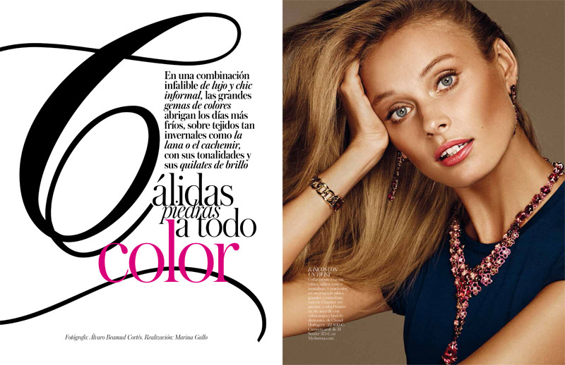 Inguna Butane by Alvaro Beamud Cortes for Vogue Joyas Spain