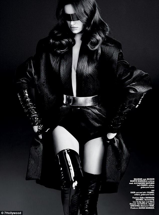 Irina Shayk For 7Hollywood Magazine Winter 2014