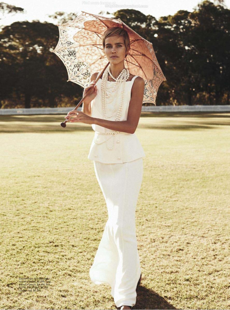 Isabel Lucas by Nicole Bentley for Vogue Australia December 2013