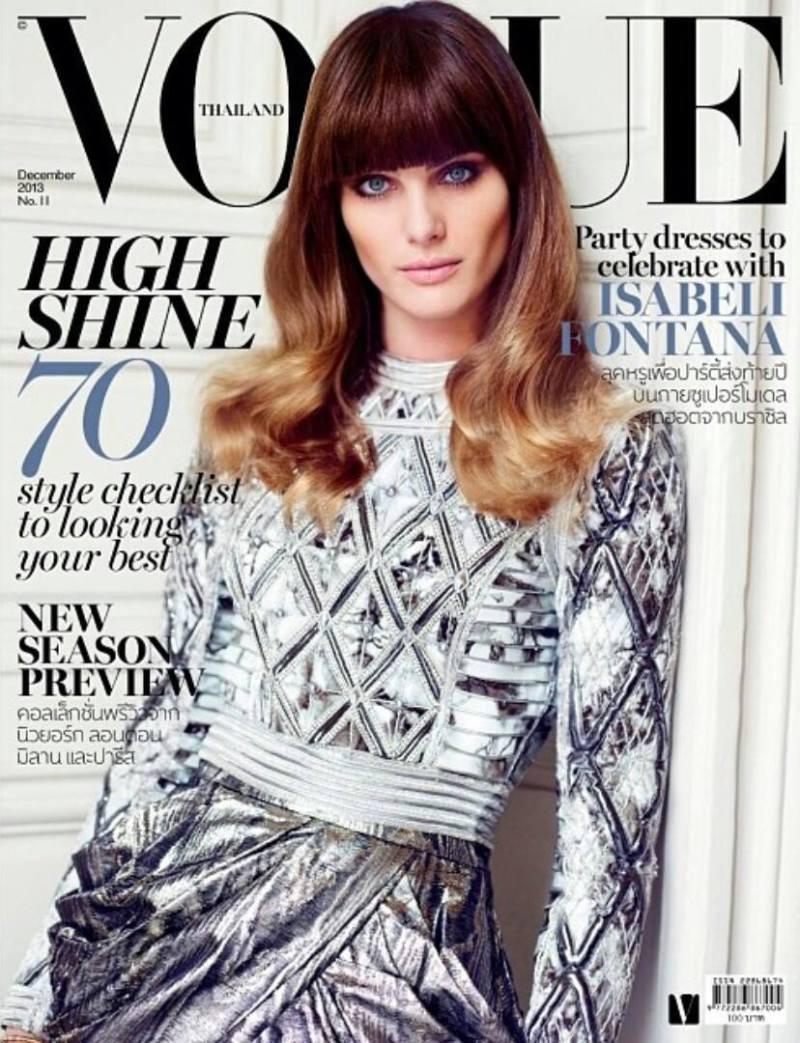 Isabeli Fontana by Marcin Tyszka for Vogue Thailand December 2013