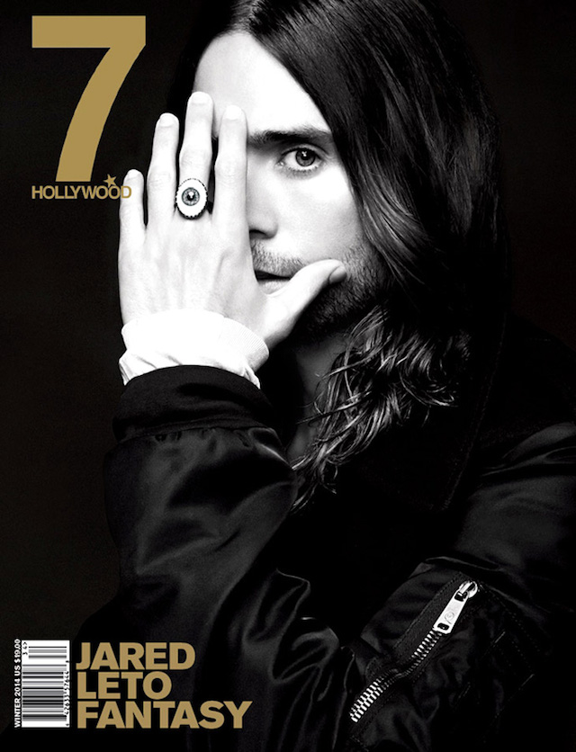 Jared Leto for 7Hollywood Magazine Winter 2014