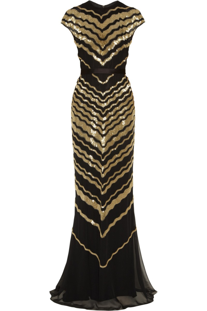 JASON WU Beaded silk-chiffon gown €13,205