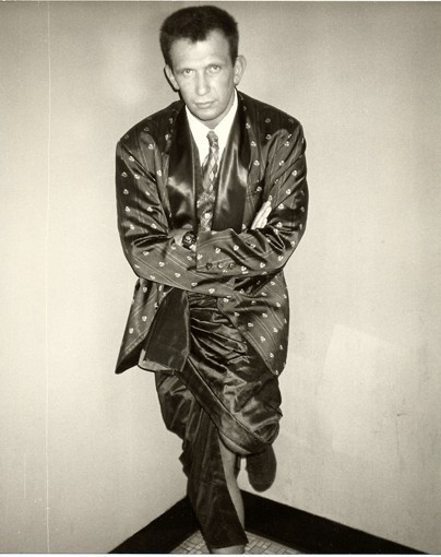 Jean Paul Gaultier, 1984  Photography by Andy Warhol