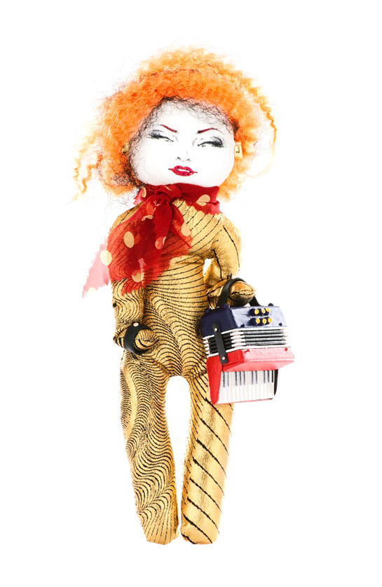 Jean-Paul Gaultier doll for UNICEF