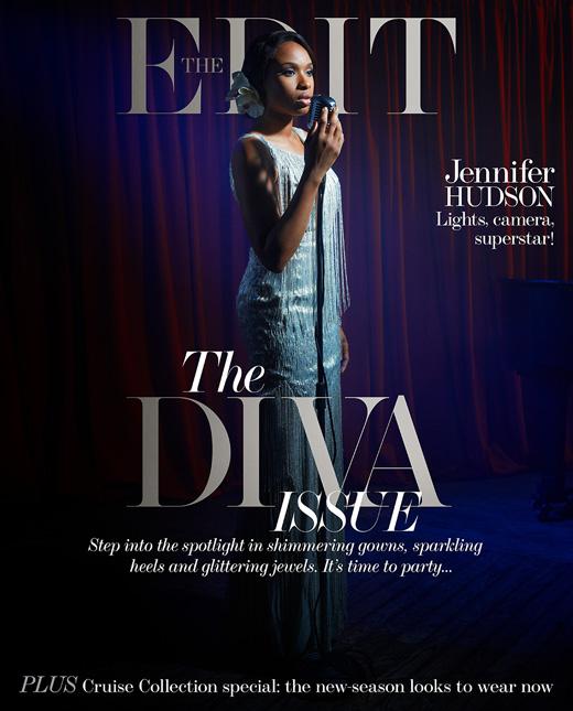 Jennifer Hudson by Francesco Carrozzini for The Edit November 28, 2013