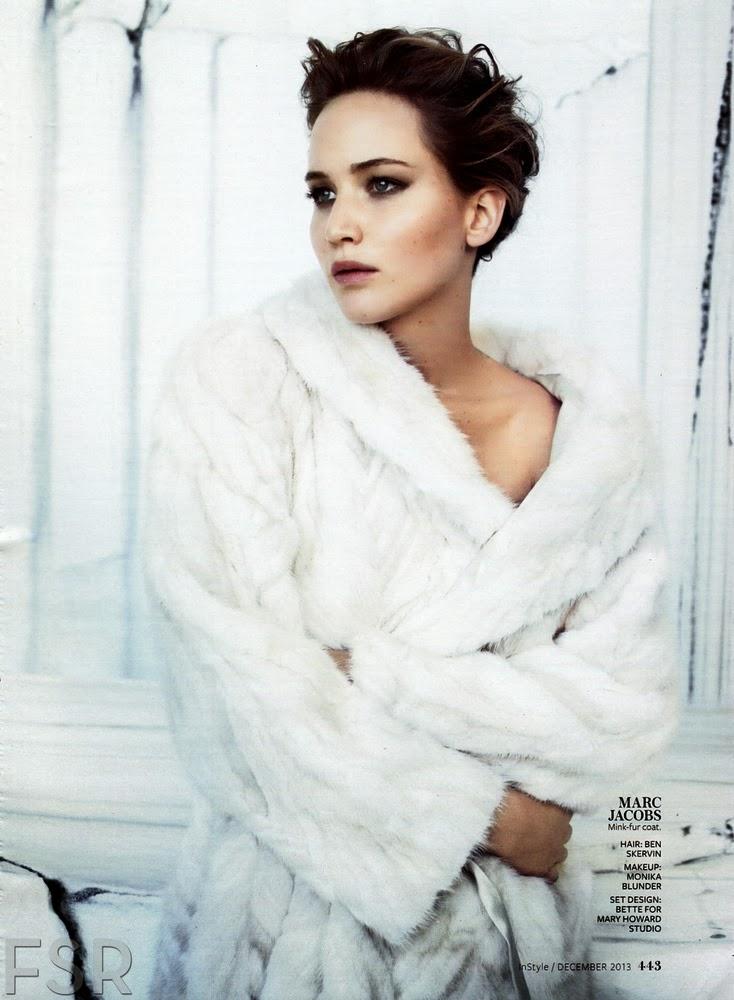 Jennifer Lawrence by Michelangelo Di Battista for InStyle US December 2013