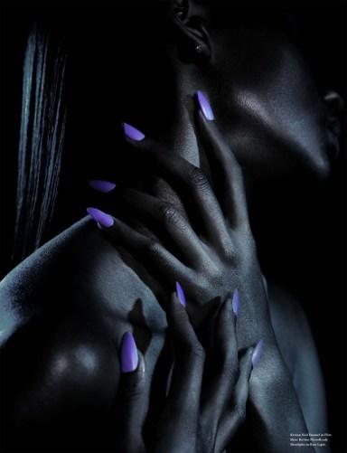Jenny Longworth for Revlon envision surrealistic nails for Wonderland Magazine