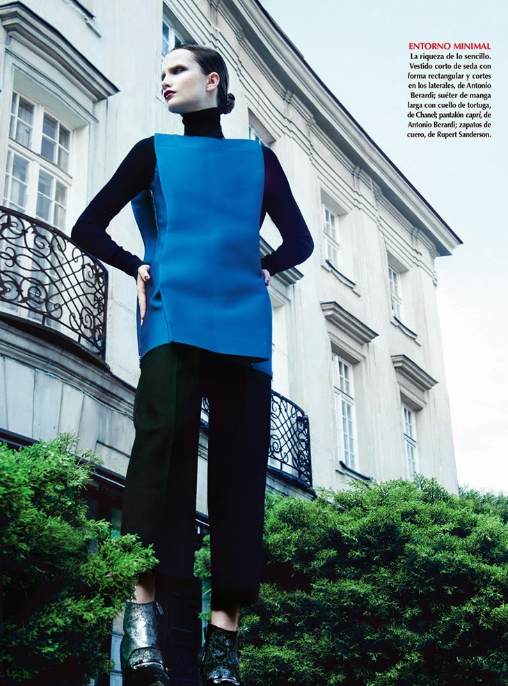 Julia Borawska by Kevin Sinclair for Vogue Mexico November 2013
