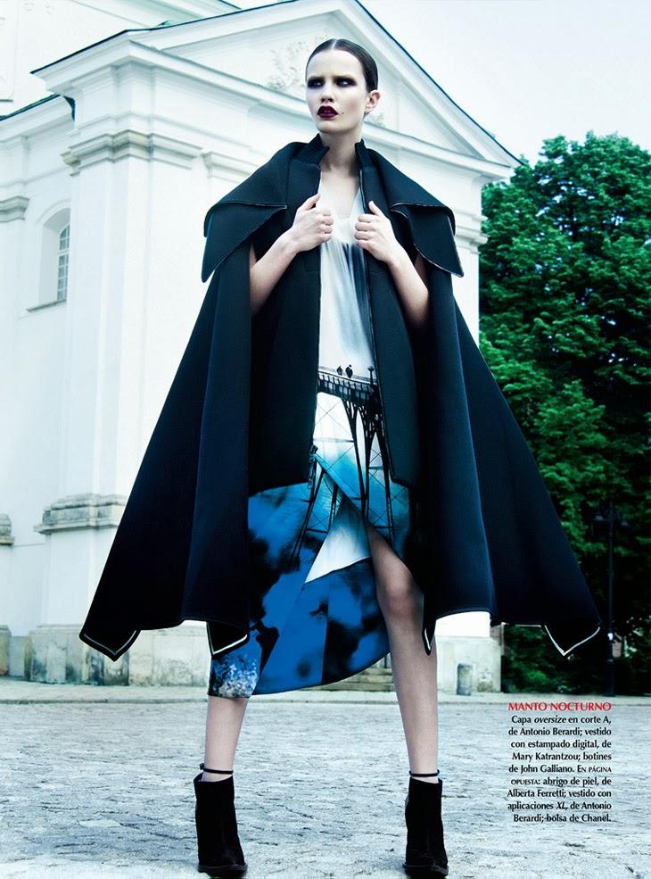 Julia Borawska by Kevin Sinclair for Vogue Mexico November 2013
