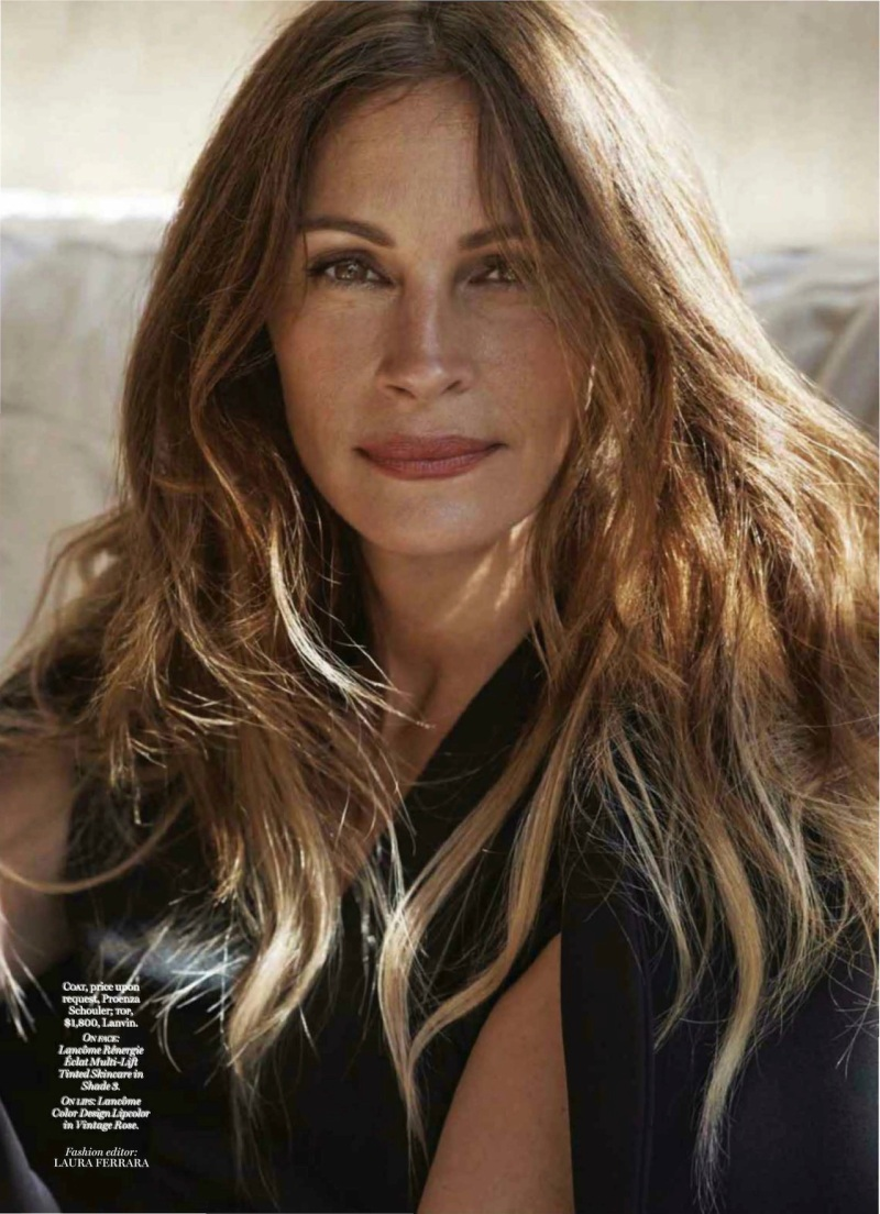 Julia Roberts by Cedric Buchet for Marie Claire US December 2013
