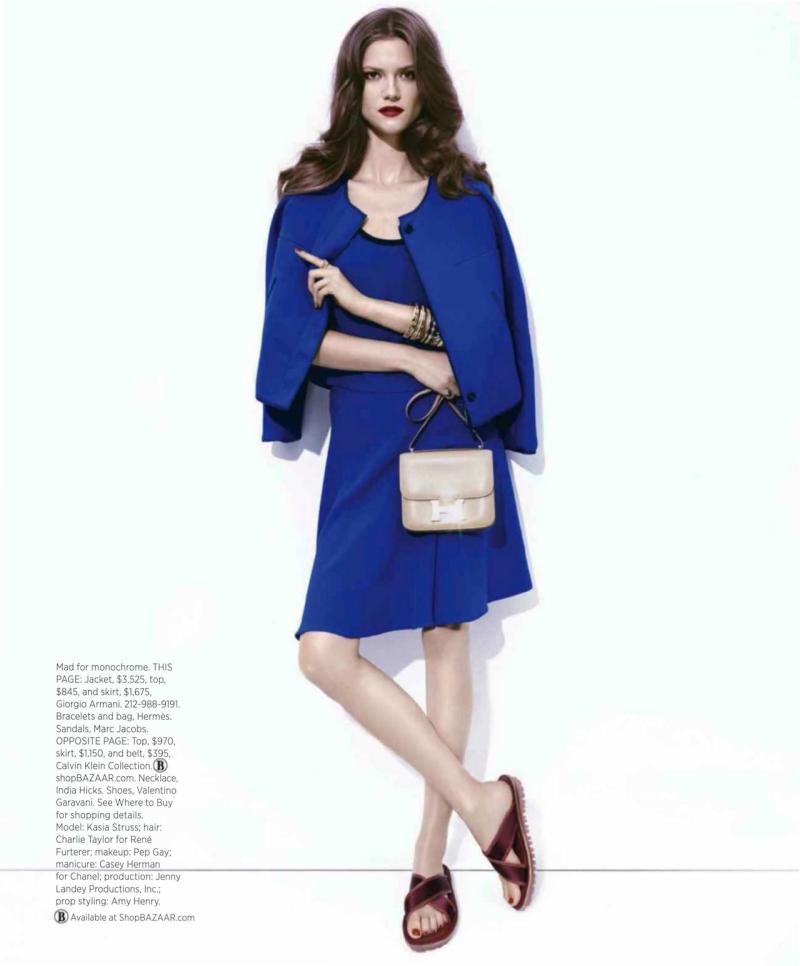 Kasia Struss By Paola Kudacki For Harper's Bazaar US December 2013