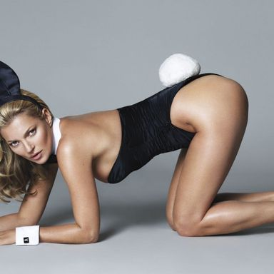Kate Moss By Mert & Marcus For Playboy 60's Anniversary Issue