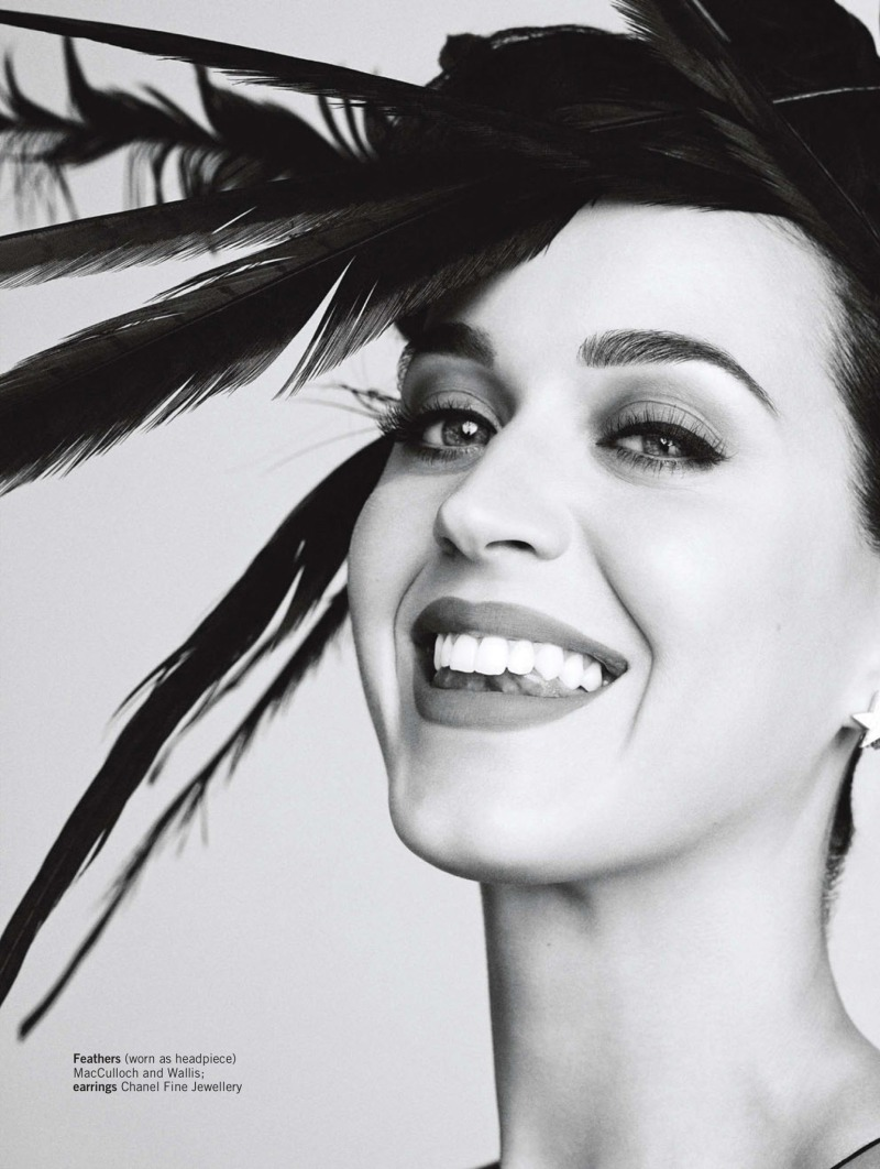 Katy Perry by Simon Emmett for Glamour UK December 2013