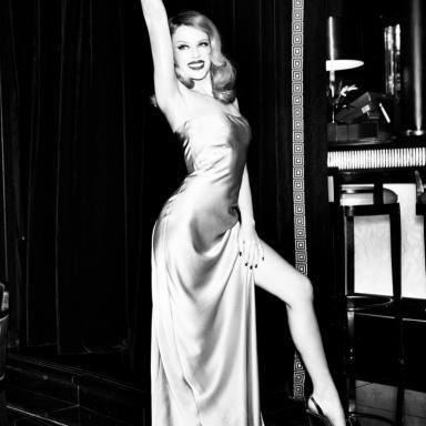 Kylie Minogue by Ellen von Unwerth for GQ Germany December 2013