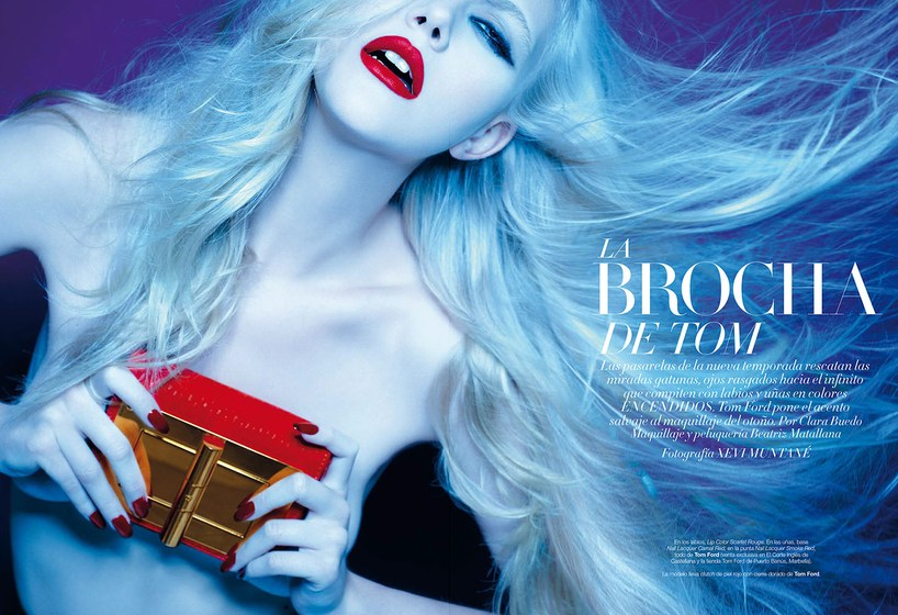 La Brocha de Tom by Xevi Muntane for Harper's Bazaar Spain