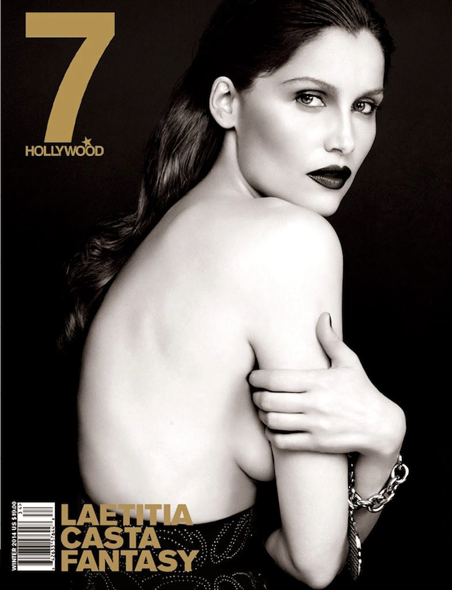 Laetitia Casta for 7Hollywood Magazine Winter 2014