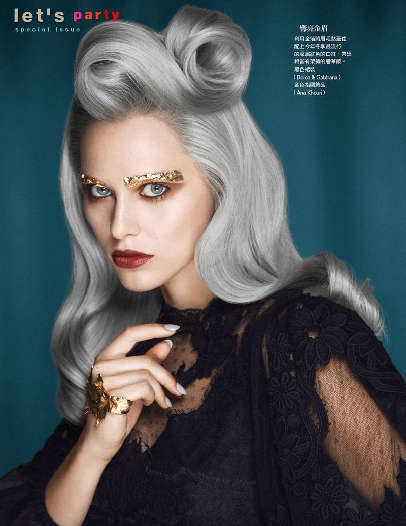 Vogue Taiwan November 2013 : X'mas Look