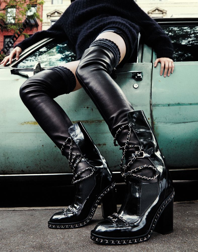 """Leg Up"" by Bjarne Jonasson for Interview Magazine November 2013"
